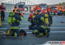 GKN w płomieniach, poszkodowani pracownicy i liczne siły Straży Pożarnej na ratunek. Mundurowi ćwiczyli na terenie oleśnickiego zakładu