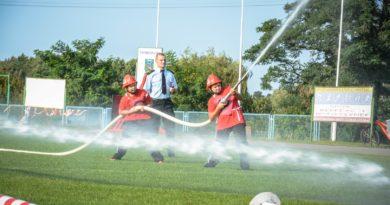 Strażacy rywalizowali na zawodach powiatowych