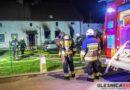 W Goszczu płonął budynek mieszkalny. Podczas akcji ranny został Strażak z OSP Twardogóra