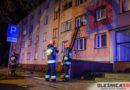 Świąteczny stroik spowodował pożar