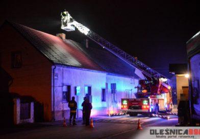 Dwa pożary jednego komina