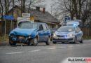 Wypadek dwóch Fiatów w Ostrowinie