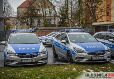 Nowe radiowozy już u oleśnickich Policjantów