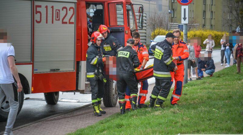 Zespoły Pogotowia przy innych wezwaniach – musieli interweniować Strażacy i śmigłowiec