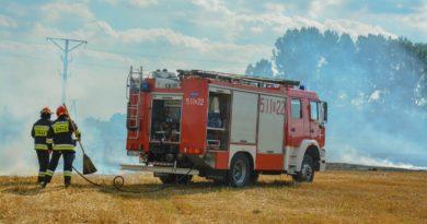 Pożarnicze podsumowanie żniw
