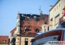 Pożar kamienicy w oleśnickim rynku