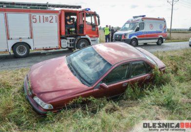 Wypadek Volvo w Zawidowicach