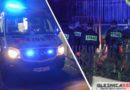 Strażacy reanimowali mężczyznę, który spadł z wysokości. Popołudniowa walka o życie na jednym z oleśnickich osiedli