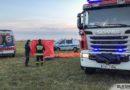 Paralotnia runęła na płytę oleśnickiego lotniska. 33-latek zginał na miejscu
