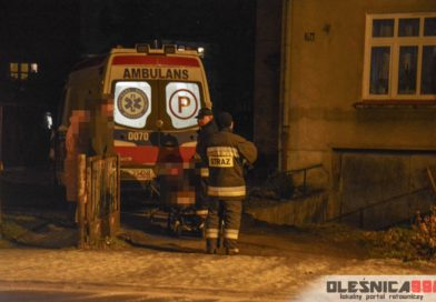 Strażacy z pomocą załodze karetki