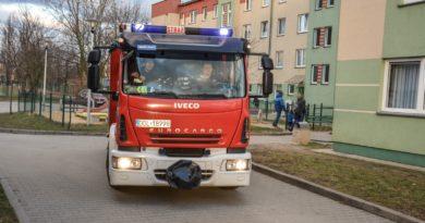 Błyskawiczna interwencja Strażaków