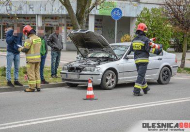 Samozapłon BMW na Skłodowskiej