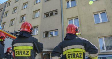 Pożar garnka w mieszkaniu