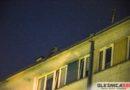 Groził, że skoczy z dachu kilkupiętrowego bloku w centrum miasta