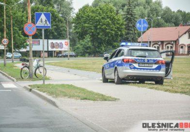 Potrącenie starszego rowerzysty