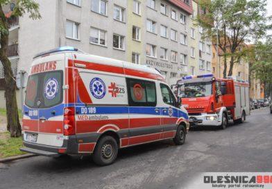 Strażacy w zastępstwie karetki Pogotowia