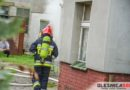 Pożar piwnicy w budynku jednorodzinnym