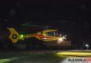 Lądowanie Ratownika-13 na miejscu gminnym w Smardzowie