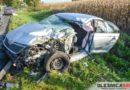 Poranne zderzenie czterech samochodów na DW 451