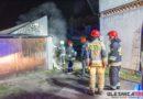 Nocny pożar w Dobroszycach