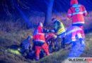 Potrącenie rowerzysty na Dobroszyckiej. Na drogach panują trudne warunki!