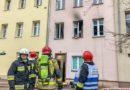 Pożar mieszkania w centrum Oleśnicy