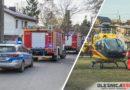 Strażacy w zastępstwie karetki. Akcja ratownicza w Międzyborzu