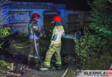 Kolejny pożar na terenie opuszczonego kompleksu