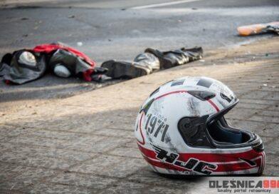 Nie żyje 30-letni motocyklista ranny po dzisiejszym wypadku w Karwińcu