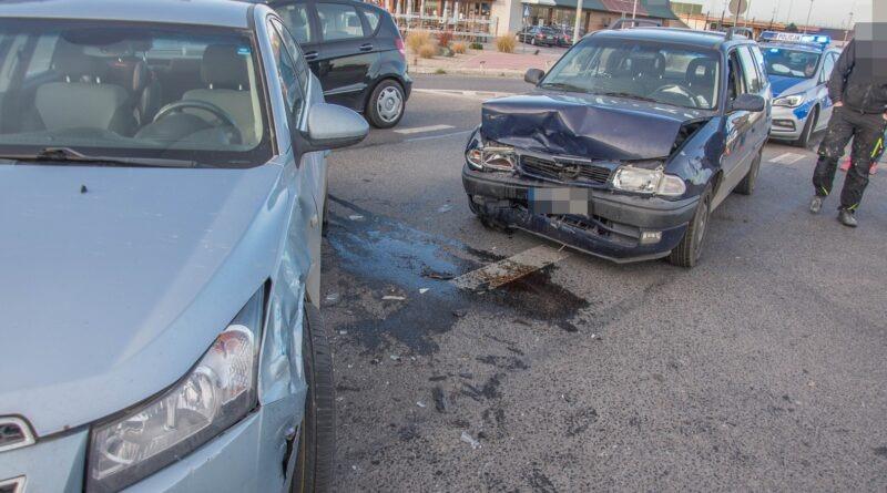 Kolejne zdarzenie drogowe na Dobroszyckiej