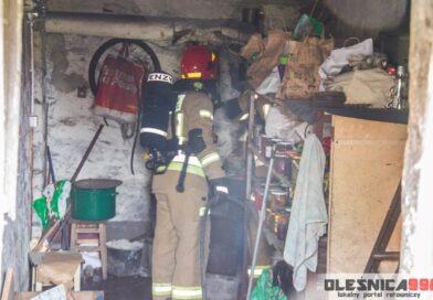 Strażacy postawieni na nogi zgłoszeniem o pożarze poddasza kamienicy