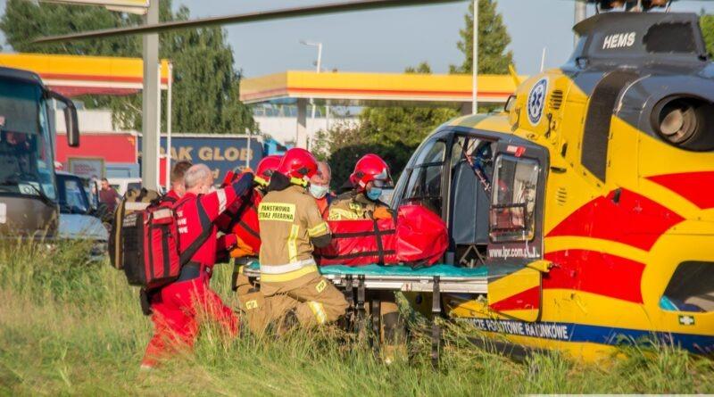Ratownik-13 przyleciał do pacjentki z problemami neurologicznymi