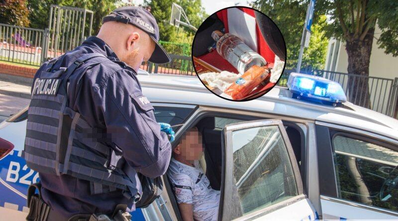 Kompletnie pijany prowadził samochód. Ujęli go przypadkowi kierowcy