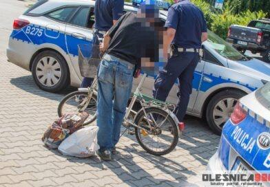 Potrącenie starszego rowerzysty. Sprawca uciekł z miejsca zdarzenia