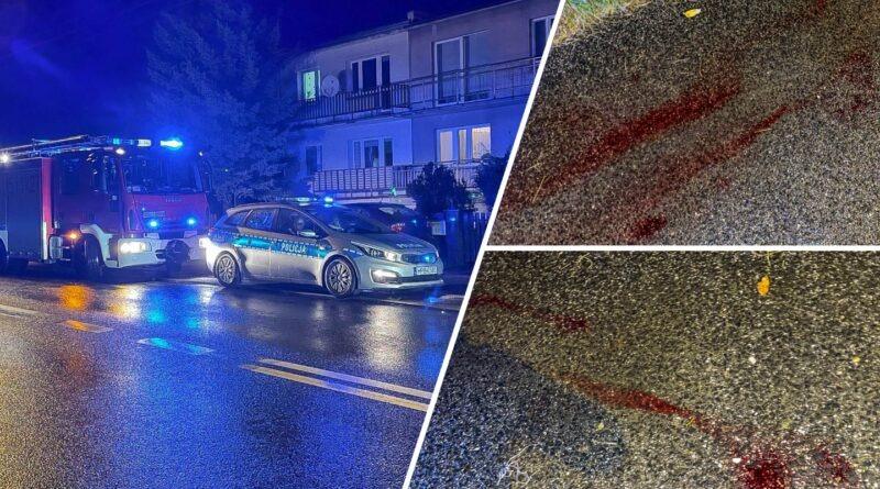 Dwie osoby ranne w wyniku ataku nożownika!
