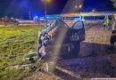 Bardzo groźny wypadek na trasie S8. Pasażerowie wypadli z dachującego samochodu!